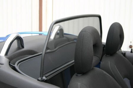 windschott peugeot 206 cc von musketier exclusiv tuning. Black Bedroom Furniture Sets. Home Design Ideas